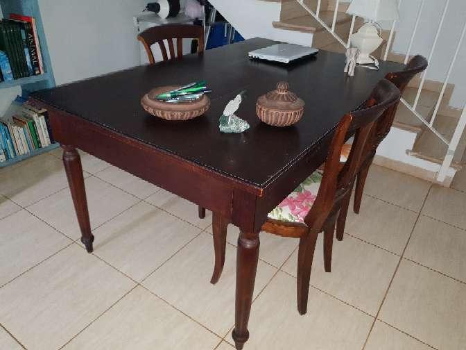 Imagen más a comedor CAOBA y 6 sillas teca