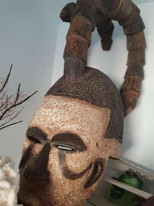 Imagen mascara africana congo