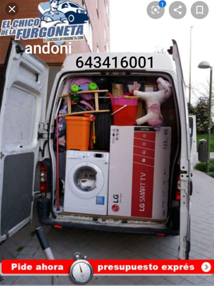 Imagen transportista de mudanzas andoni