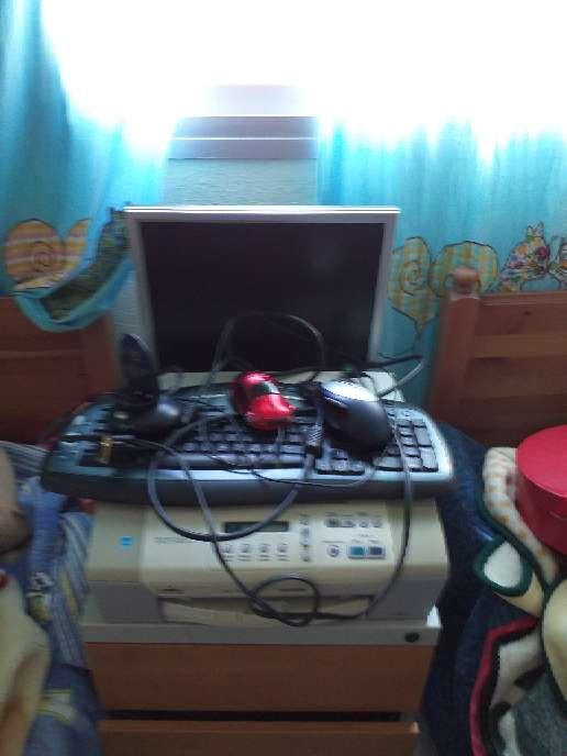 Imagen ordenador con impresora