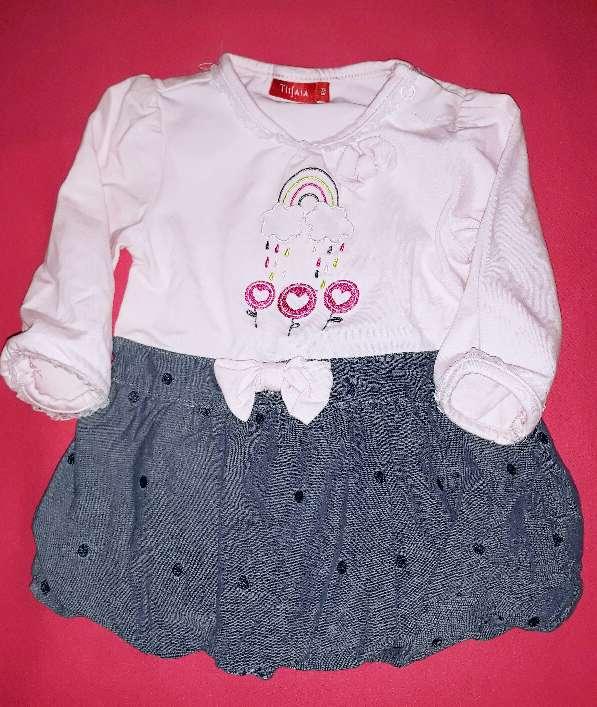 Imagen Vestido bebé Tissaia, 6m.