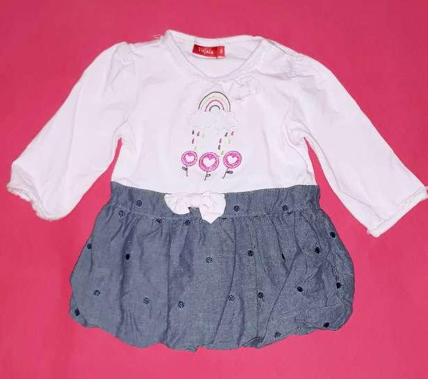Imagen producto Vestido bebé Tissaia, 6m.  2