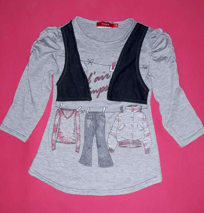 Imagen Camiseta chaleco Tissaia, 3 años.