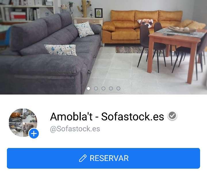 Imagen producto Sofa cama italiano antimanchas gris 7
