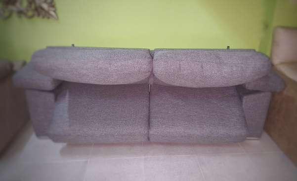 Imagen producto Sofa cama italiano antimanchas gris 2