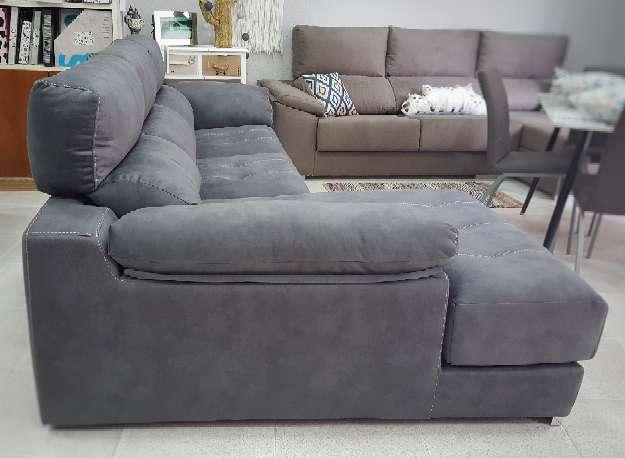 Imagen producto Sofa viscolastico antimanchas antracita 4