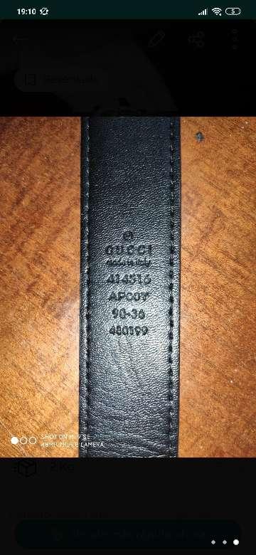 Imagen cinturón Gucci