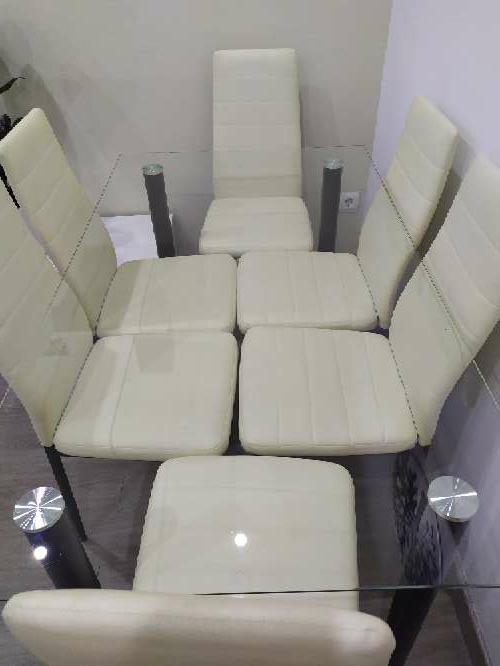 Imagen producto Mueble de comedor y mesa con 6 sillas  2