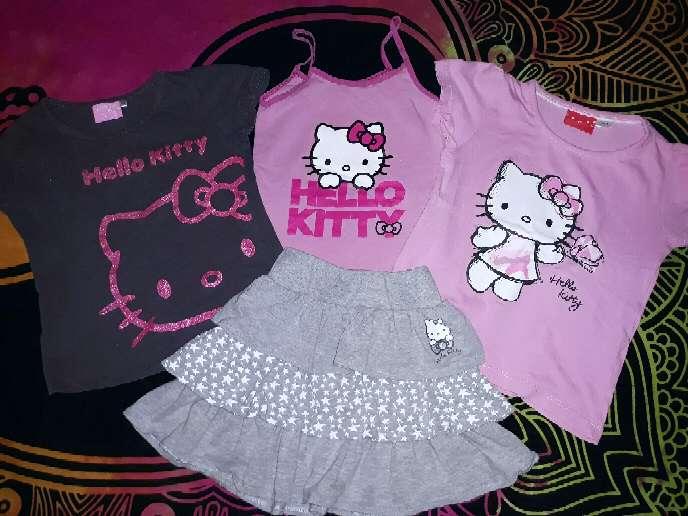 Imagen Lote Hello Kitty, 6-7 años.