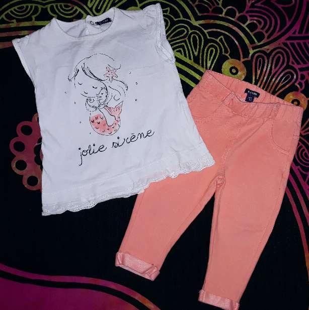 Imagen producto Leggins y camiseta, 12m.  2