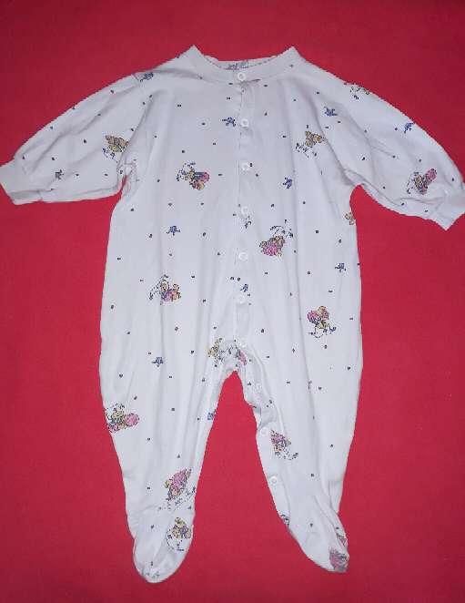 Imagen Pijama algodón bebé, 6m.