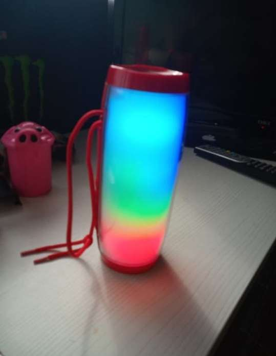 Imagen Altavoz Bluetooth Led Multicolor