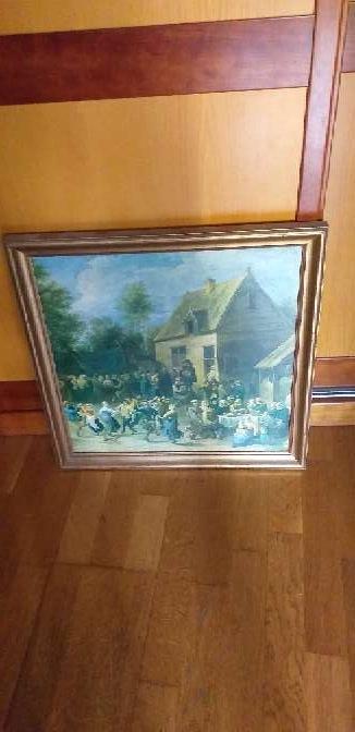Imagen producto 2 cuadros y un paraguero vintange  2