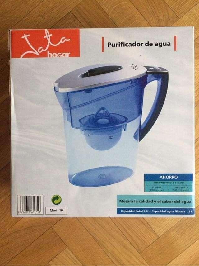 Imagen producto Purificador de agua más botellero y cubo  3
