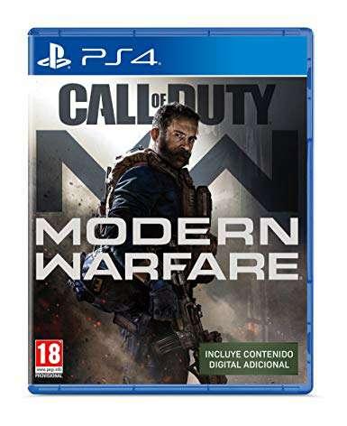 Imagen call of duty modern warfare ps4 nuevo
