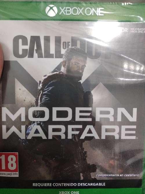 Imagen call of duty modern warfare nuevo para Xbox one