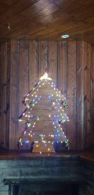 Imagen producto Árbol madera navideño 2
