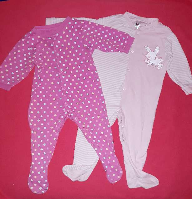 Imagen Pijamas niña bebe, 9m.