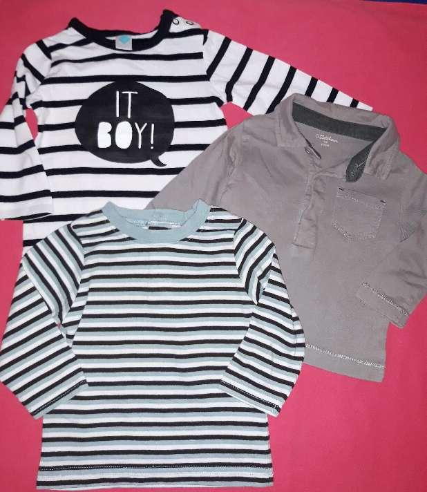 Imagen producto Lote camisetas, 6m.  1