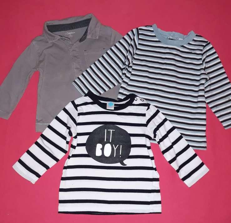 Imagen producto Lote camisetas, 6m.  2