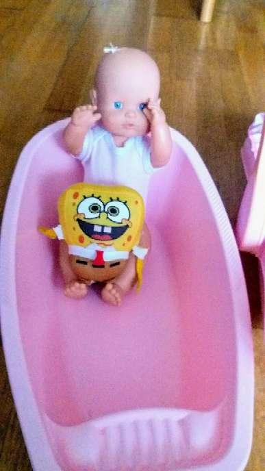 Imagen producto Balancín...bañera y muñeca nenuca  2