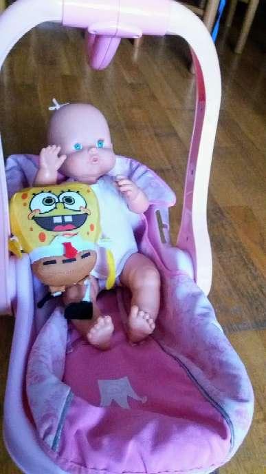 Imagen producto Balancín...bañera y muñeca nenuca  3