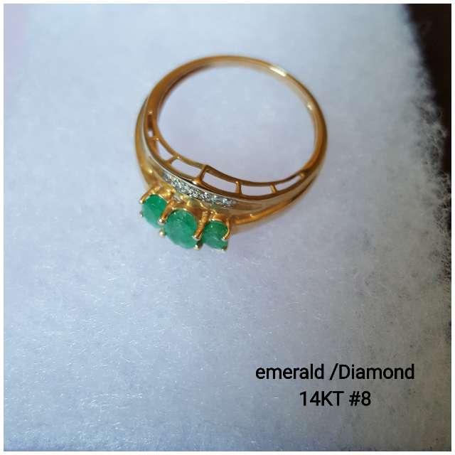 Imagen Ring gold 14KT size 8