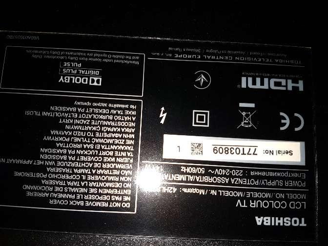 Imagen producto Vendo tv por 250€ 2