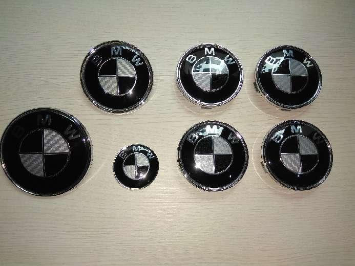 Imagen Emblemas carbono bmw