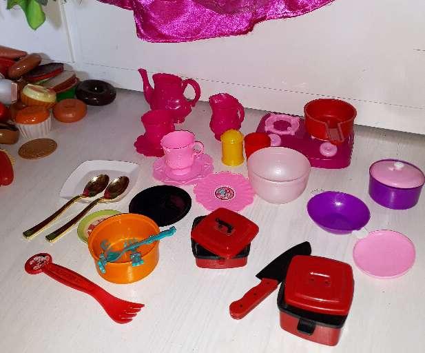 Imagen producto Comida Juguete. Más de 190 piezas.  3