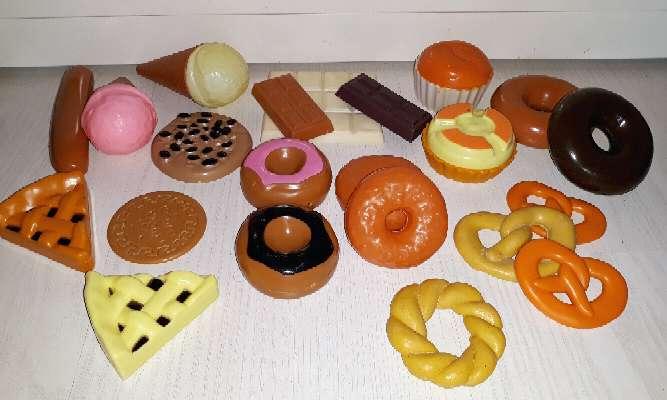 Imagen producto Comida Juguete. Más de 190 piezas.  2