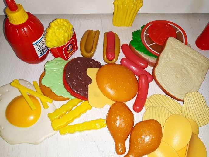 Imagen producto Comida Juguete. Más de 190 piezas.  5