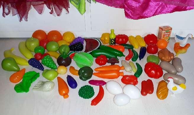 Imagen producto Comida Juguete. Más de 190 piezas.  6
