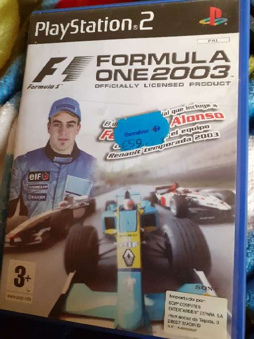 Imagen producto Ps2 f1 formula one 2003  1