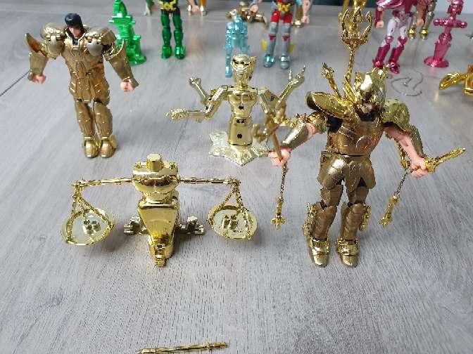 Imagen producto Figuras los caballeros del zodíaco  7