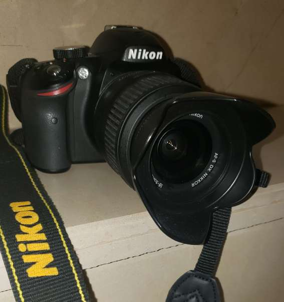 Imagen Camara Profesional Nikon 3200