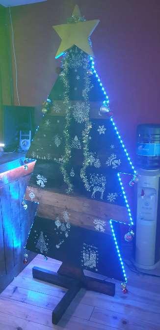 Imagen producto Árbol madera navideño 3