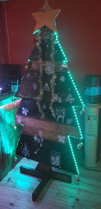 Imagen producto Árbol madera navideño 4