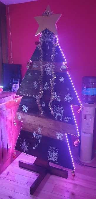 Imagen producto Árbol madera navideño 6