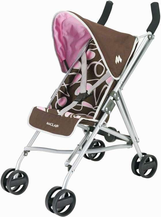 Imagen silla Maclaren más muñeca rosa Baby