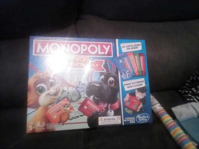 Imagen producto Monopoly Junior NUEVO a estrenar 2