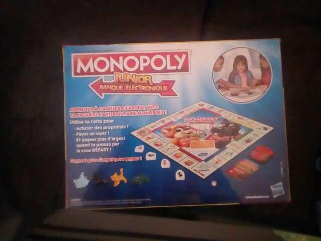 Imagen producto Monopoly Junior NUEVO a estrenar 3