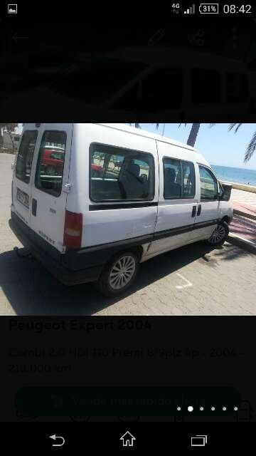 Imagen Peugeot exper 2000hdi año 2004