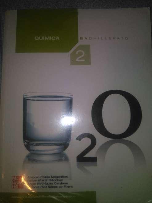Imagen Química 2 Bachillerato