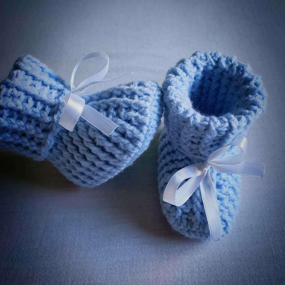 Imagen producto Patucos a Crochet  1