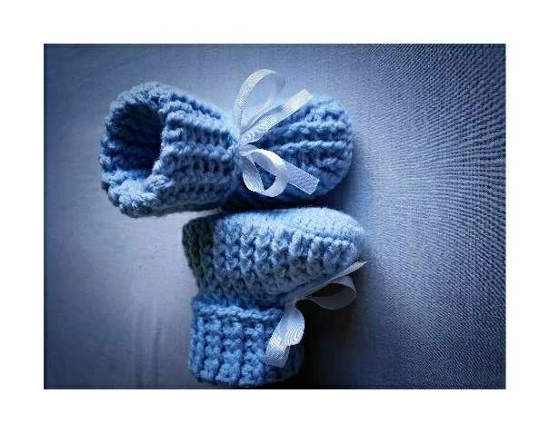Imagen producto Patucos a Crochet  2