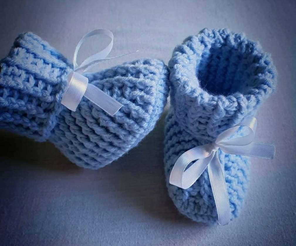 Imagen producto Patucos a Crochet  3