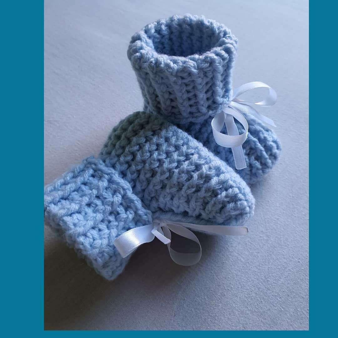 Imagen producto Patucos a Crochet  4