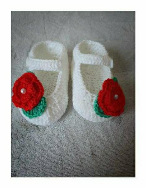 Imagen producto Vestido con zapatitos bebe  3