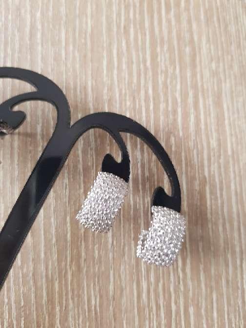 Imagen Pendientes de plata con zirconitas